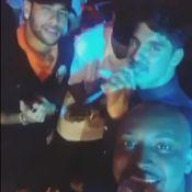 Neymar canta com Thiaguinho e Gabriel Medina no aniversário do surfista. Vídeo!