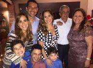 Família reunida: Zezé Di Camargo curte Natal com filhas Wanessa e Camilla. Foto!