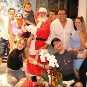 Viúva de Marcelo Rezende, Luciana Lacerda passa Natal com Geraldo Luis:'Família'