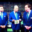 Galvão Bueno erra ao narrar o primeiro gol do Brasil na África do Sul: 'Não vi a bola entrar', justificou o narrador
