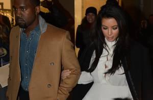 Kim Kardashian diz que não vai mostrar seu bebê com Kanye West em reality show