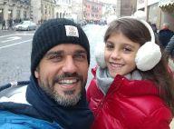 Bruno Cabrerizo homenageia filha italiana por aniversário de 7 anos: 'Meu amor'