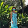 Paula Fernandes tem arrancado elogios nas fotos em Fernando de Noronha