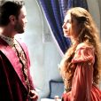 O príncipe De Michel encontra Selena (Giselle Itié) no quarto de Marion (Helena Fernandes), no capítulo de terça-feira, 9 de janeiro de 2018, da novela 'Belaventura'