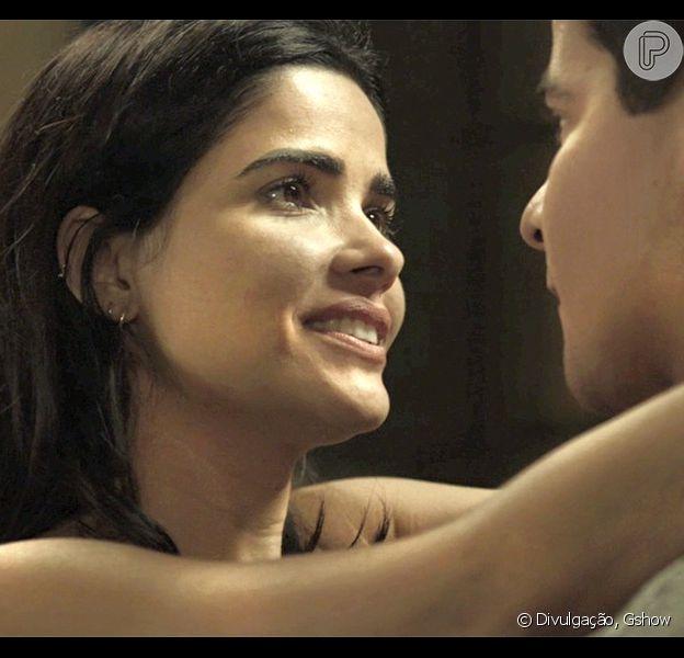 Antônia (Vanessa Giácomo) e Júlio (Thiago Martins) terão um final feliz, no último capítulo da novela das sete, 'Pega Pega'