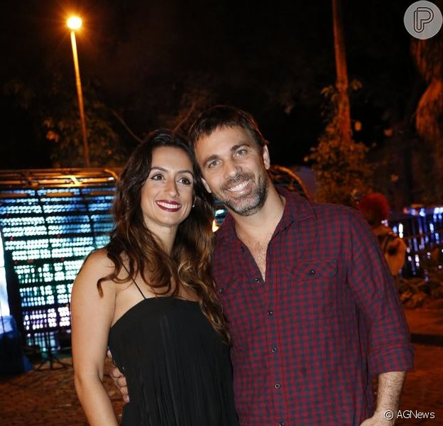 Marcelo Faria e Camila Lucciola terminaram casamento de 7 anos, diz a coluna 'Gente Boa', do jornal 'O Globo', nesta sexta-feira, 29 de dezembro de 2017