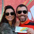 Marcelo Faria e Camila Lucciola ficaram casados por sete anos