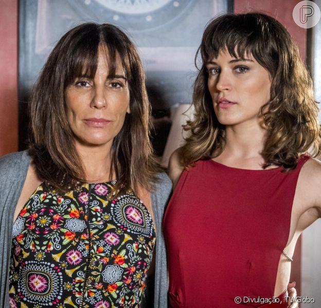 Clara (Bianca Bin) finalmente vai descobrir que é filha de Duda (Gloria Pires) nos próximos capítulos da novela 'O Outro Lado do Paraíso'