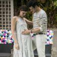 Luíza (Camila Queiroz) ficará grávida de Eric (Mateus Solano) na novela 'Pega Pega'
