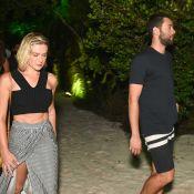 Fiorella Mattheis leva namorado, Roberto Marinho Neto, à festa na Bahia. Fotos!