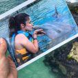Emilly Araújo visitou Isla Mujeres