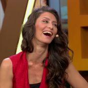 Maria Fernanda Cândido sobre beijo técnico: 'Não acho uma boa beijar de verdade'