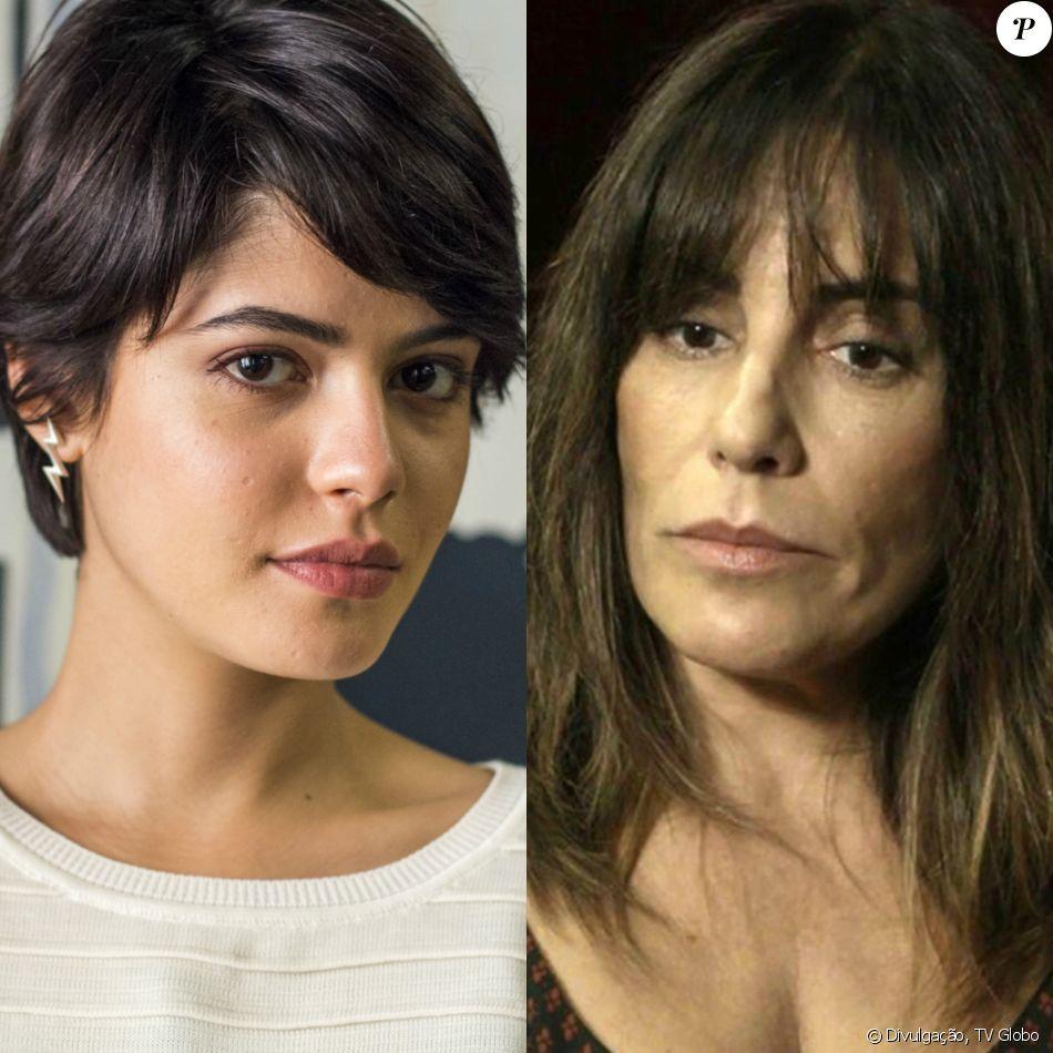 Adriana (Julia Dalavia) não perdoa Duda (Gloria Pires) e diz sentir mágoas pela mãe, na novela 'O Outro Lado do Paraíso'