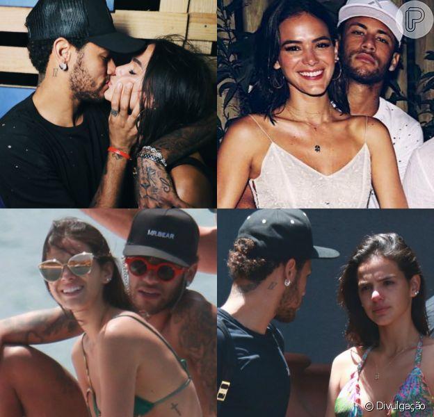 Festas, passeios, praias, choro emocionado e muitos beijos! Relembre viagem de Bruna Marquezine e Neymar a Fernando de Noronha