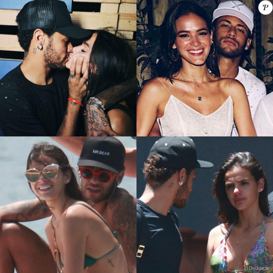 Marquezine se despede de Neymar Jr. entre choro e beijos