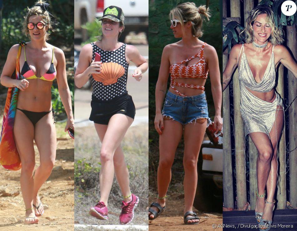 cc0013d99 Veja detalhes dos looks usado por Giovanna Ewbank durante verão em Fernando  de Noronha