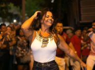 Viviane Araujo brilha no primeiro ensaio do ano do Salgueiro para o carnaval