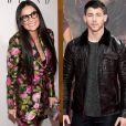 'Eles se encontraram e agora Demi e Nick estão se conectando', declarou uma pessoa próxima de Demi Moore e Nick Jonas
