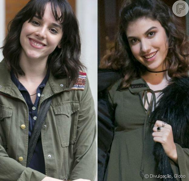Manoela Aliperti opina sobre casal Lica e Samantha em 'Malhação' em entrevista divulgada nesta sexta-feira, dia 05 de janeiro de 2018