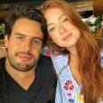 Marina Ruy Barbosadispensa ciúmes em casamento com Xande Negrão: 'Segurança'