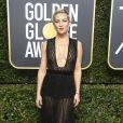 Kate Hudson usou vestido  Valentino, coleção outono 2017,   na 75ª edição do Globo de Ouro, realizado no hotel The Beverly Hilton, na Califórnia, neste domingo, 7 de janeiro de 2018