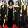 Gal Gadot, Viola Davis, Penélope Cruz, Kate Hudson e mais famosas vestiram preto no Globo de Ouro 2018. Confira!