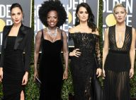 Moda e militância: famosas protestam com looks pretos no Globo de Ouro. Fotos!