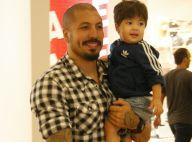 Coruja! Fernando Medeiros curte passeio com o filho, Lucca, no RJ. Fotos!