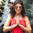 Enquanto não grava 'Deus Salve o Rei', Paula Fernandes aproveita férias na Tailândia