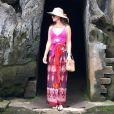 Paula Fernandes compartilhou fotos da viagem à Tailândia em seu Instagram