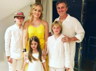 Filhos de Angélica e Luciano Huck caem no chão após 'tiro' de Jojo Todynho