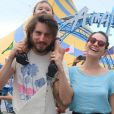 'A primeira vez do Tin no circo foi emocionante', comemorou Tainá Müller no Instagram