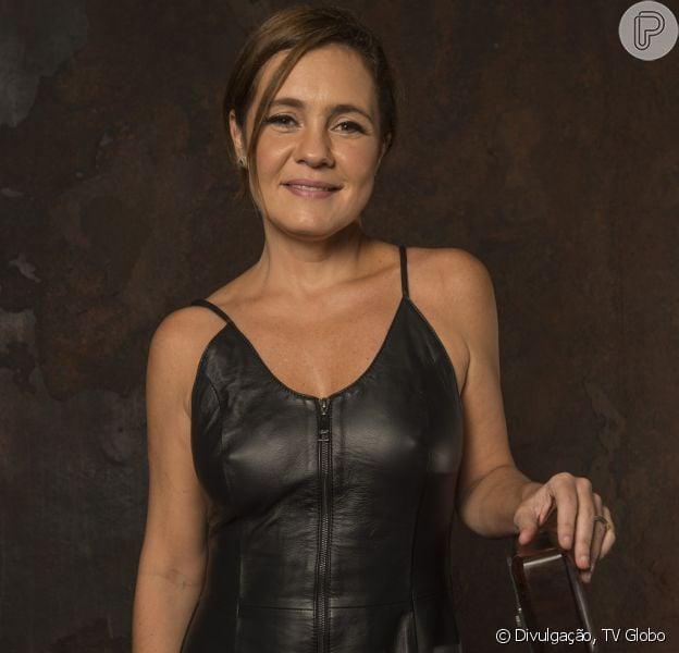 Adriana Esteves admitiu que já foi vítima de assédio no passado