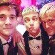 Nicolas Prattes se encontrou ainda com o modelo americano Cameron Dallas e o empresário Guilherme Siqueira