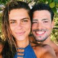 Mariana Goldfarb já se considerava casada com Cauã Reymond, mas planejava uma festa de casamento para oficializar a união