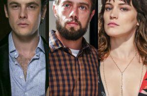 'O Outro Lado do Paraíso': Gael empurra Renato ao vê-lo beijar Clara em festa