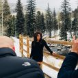 Juliana Paes está de férias no Colorado, nos Estados Unidos
