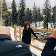 Juliana Paes está de férias no Colorado, nos Estados Unidos