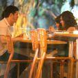 Caio Paduan e Mayana Neiva atuam juntos na novela 'O Outro Lado do Paraíso'