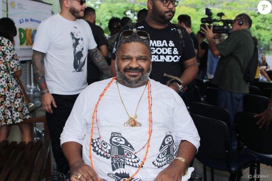 Internado há 10 meses após sofrer AVC, Arlindo Cruz deve ter alta até o carnaval, diz o colunista Leo Dias, do jornal 'O Dia', nesta quarta-feira, 17 de janeiro de 2018