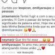 Neymar comemora namoro de Jô Amâncio e Emilly Araújo: 'Que tiro foi esse'