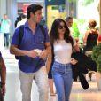 Isis Valverde viajou para o Havaí com o namorado, André Resende, após reatar o relacionamento