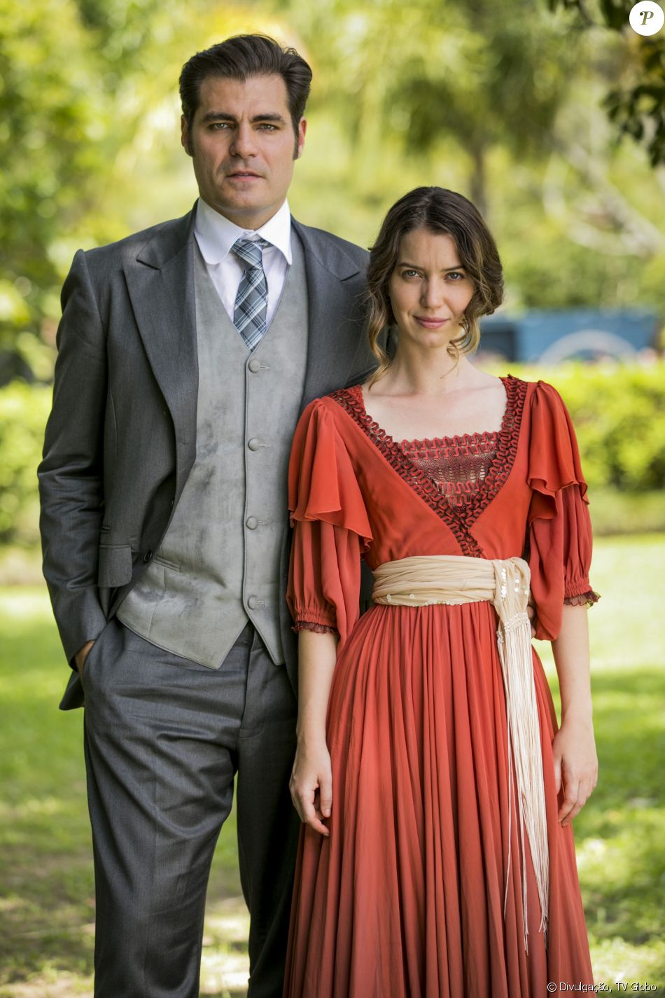 Thiago Lacerda e Nathalia Dill são os protagonistas da novela 'Orgulho e Paixão', Elisabeta e Darcy