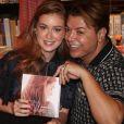 David Brazil marcou presença no lançamento do livro de Marina Ruy Barbosa