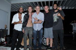 Marcello Novaes prestigia filhos em festa de lançamento da banda Fuze. Fotos!