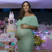 Ivete Sangalo, na reta final da gravidez, lava a roupa das gêmeas: 'Rosinha'