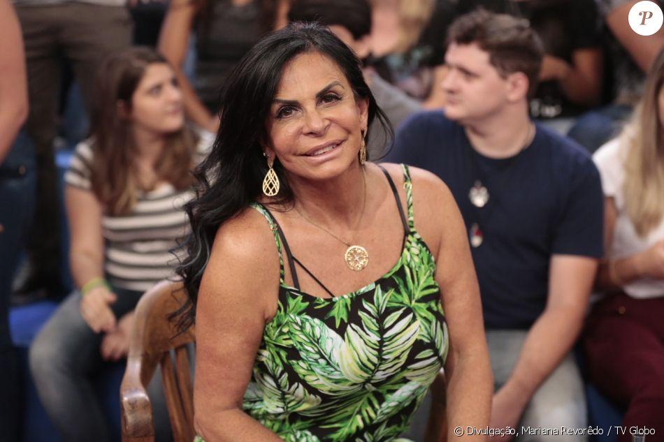 Gretchen contou em entrevista ao 'Altas Horas' de sábado, 20 de janeiro de 2018, que ela e Thammy Miranda vão participar de um reality show em família