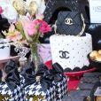 Detalhes da decoração da festa de 11 anos de Luiza, filha de Rafael Zulu