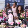 Rafael Zulu organizou festa de 11 anos para a filha, Luiza