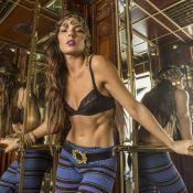 Isis Valverde, rainha do baile do Copa, encarna cigana moderna em ensaio. Fotos!